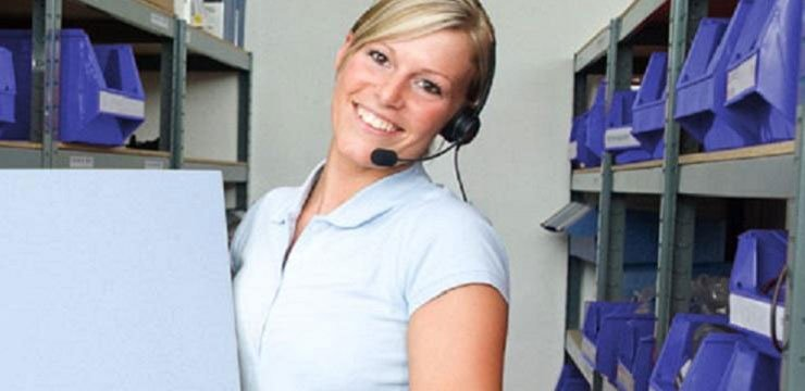 Efficient product receiving & picking using Voice enabled SAP Warehouse Management - Brady