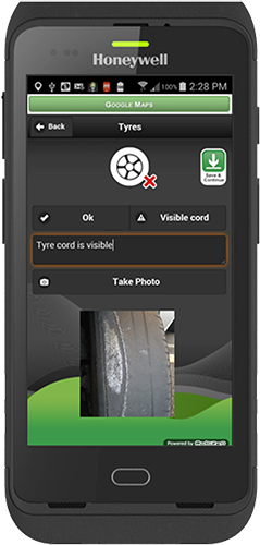 Inspect and report on individual eqipment copy