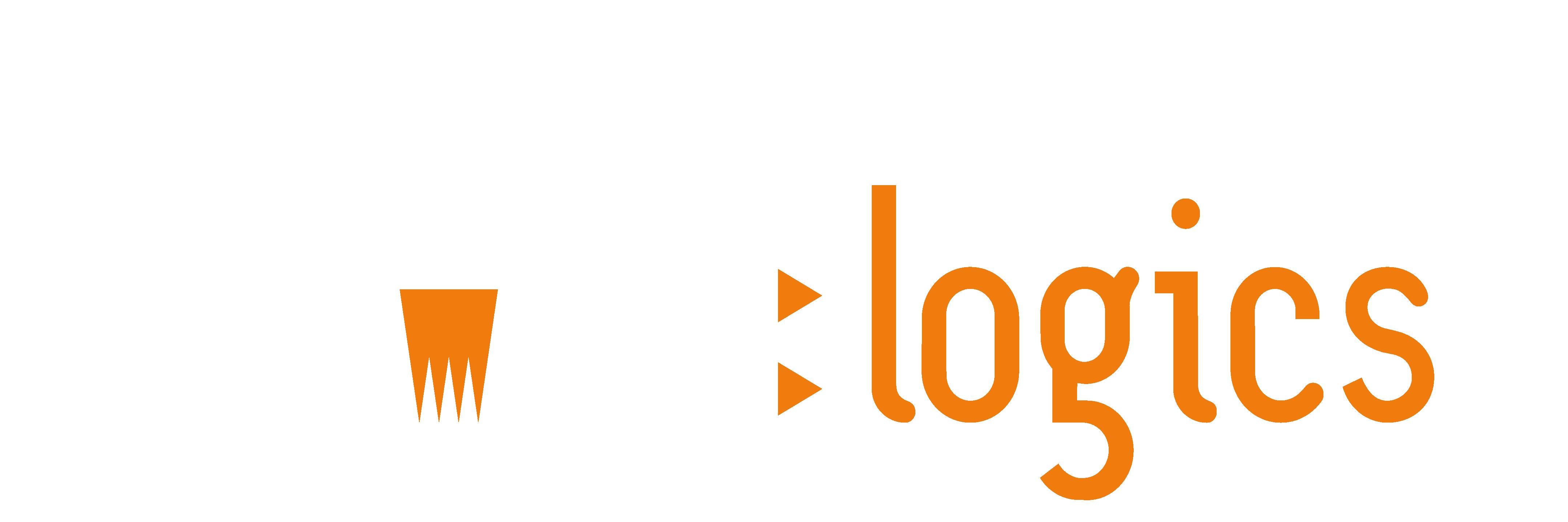 Rocket Logo - Logics White_Orange-1