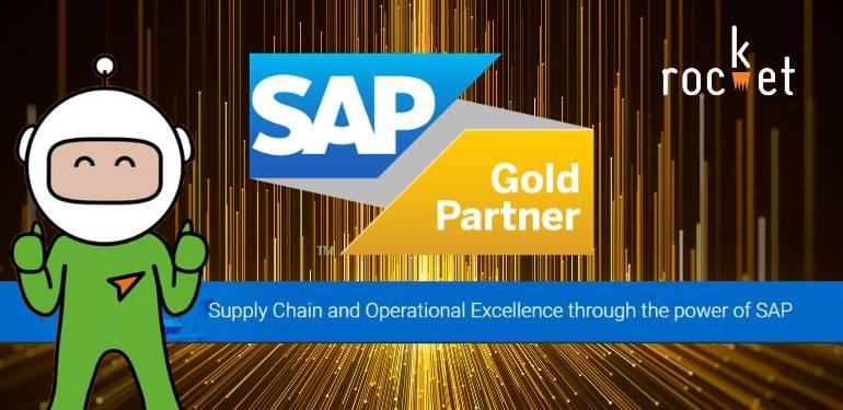Rocket Awarded SAP Gold Partner Status